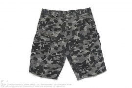 Exchange Camo Cargo Shorts by Armani