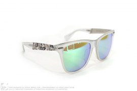 Frost Camo Accent Sunglasses 05 by A Bathing Ape