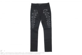 Printed Denim Pants by Alexander Wang x H&M