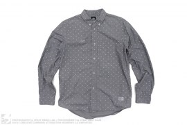Polka Dot Button Down Shirt by Stussy