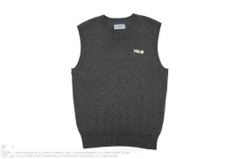 Solid Sweater Vest by Alife