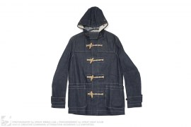 Stuarts Denim Duffle Coat by Gloverall