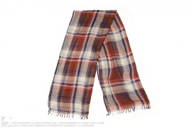Bape Check Sheer Scarf by A Bathing Ape