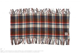 Bape Check Wool Scarf by A Bathing Ape