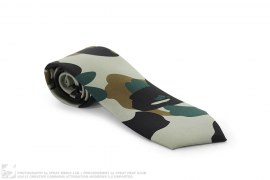 1st Camo Silk Necktie by A Bathing Ape