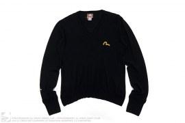 Wool Long Sleeve Sweatshirt by Evisu