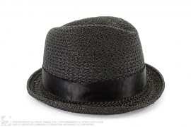 Straw Fedora Hat by Neighborhood