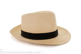 Straw Fedora Hat by Lanvin