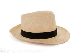 mens fedora Straw Fedora Hat by Lanvin