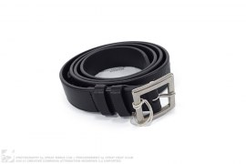 Keith Leather Belt by Stussy x Bedwin