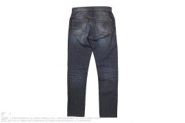 mens jeans Washed Distressed Denim by Christian Dior