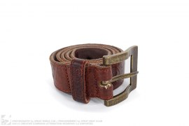Leather Military Belt by Tough Jeansmith