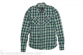 Zip Up Flannel by Superdry
