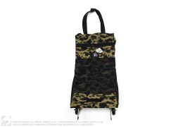 1st Camo Collapsable  Mini Trolly Bag by A Bathing Ape