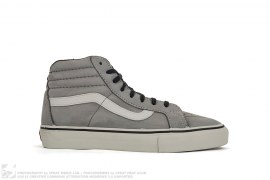 Leather Sk8t Hi by Vans