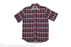 Plaid Short Sleeve Button Up by Mister