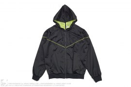 Kaws X-Eyes Air Max Hooded Mesh Windbreaker Jacket by Nike x OriginalFake