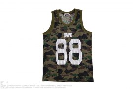 1st Camo Mesh Basketball Jersey by A Bathing Ape