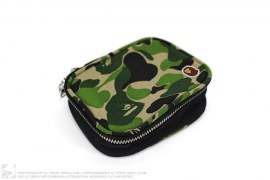 ABC Camo Canvas Amenity Pouch by A Bathing Ape