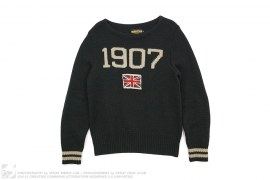 Polo Rugby Wool 1907 V-neck Sweater by Ralph Lauren