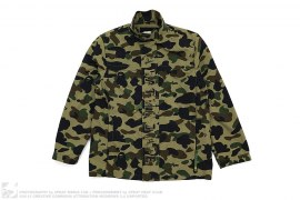1st Camo Stand Collar Windbreaker Jacket by A Bathing Ape