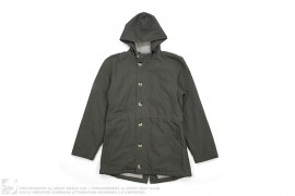 Heavy Canvas Pile Lined Winter Coat by American Apparel
