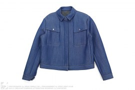 Scuba Denim Neoprene Jacket by And Other Stories