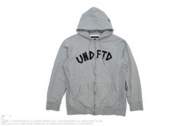 Aplique Zip Hoodie by Undefeated