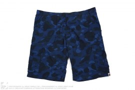 Color Camo Cargo Swimshorts by A Bathing Ape