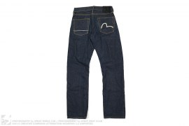 Pony Hair Swan Logo Jeans by Evisu