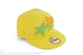 Bape Sta Logo Fitted Baseball Cap by A Bathing Ape