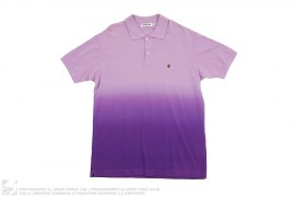 Apehead Gradient Dip Dye Pique Polo by A Bathing Ape