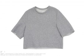 Cropped Boxy Sweatshirt by Phillip Lim