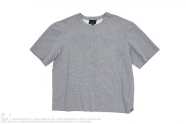 Grey Melange Patched Number '1' T-Shirt by Phillip Lim