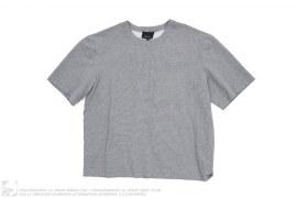 Grey Melange Patched Number '1' T-Shirt by Phillip Lim