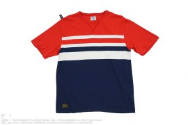 Wtaps Striped Cotton Tee by Wtaps