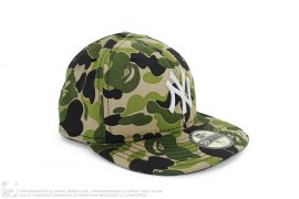 ABC Camo Fitted by A Bathing Ape x New York Yankees