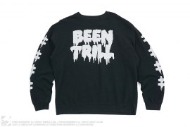 Classic Logo Crewneck Sweatshirt by Been Trill