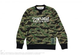 Capsule Tiger Camo Sweatershirt by A Bathing Ape x Common Sense