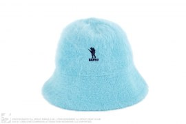 Foot Soldier Rabbit Fur Angora Bucket Hat by A Bathing Ape