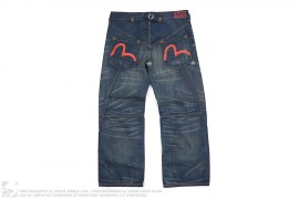 Genes Painter Distressed Denim by Evisu