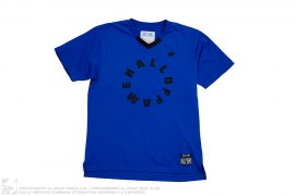Circle Logo Tee #9 Soccer Jersey by Hall of Fame