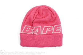 BAPE Cuffed Beanie by A Bathing Ape