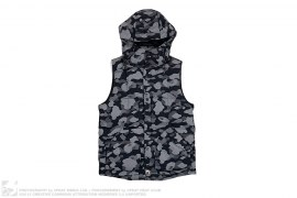3M Reflection Camo Hooded Down Vest by A Bathing Ape