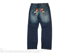Vintage Wash Denim by Ed Hardy
