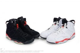 Air Jordan Retro 6 Infrared Pack by Nike