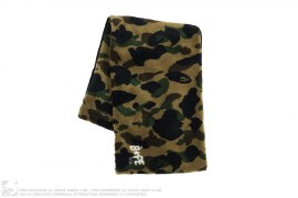 1st Camo Boa Fur Snood by A Bathing Ape