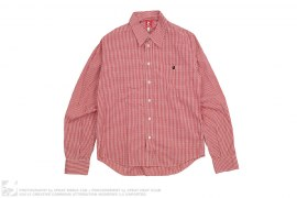 Plaid Long Sleeve Button Up by A Bathing Ape