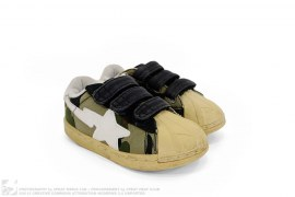 1st Camo Velcro Quicksta Skullsta Sneakers by A Bathing Ape