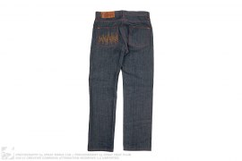 Raw Straight Leg Denim by The Hundreds